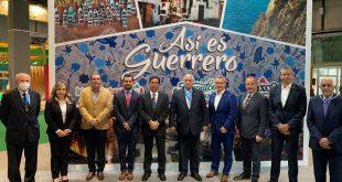 Representantes de Guerrero y Acapulco en FITUR 2021