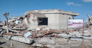 Ruinas en Villa Epecuén