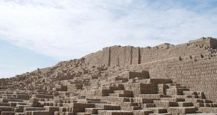 Gran Pirámide en la Huaca Pucllana