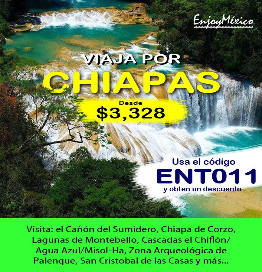 Publicidad de Viaje por Chiapas
