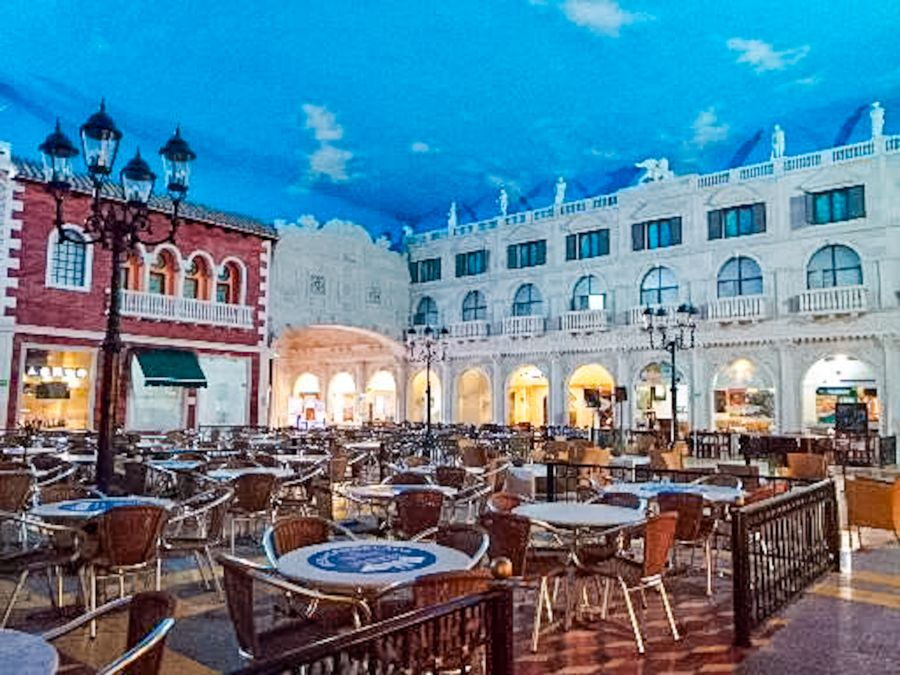 Zona de restaurantes Plaza Americas Xalapa