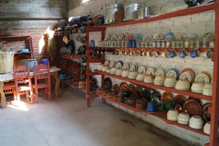 cocina típica en Pichátaro