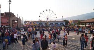 fiesta y tradición de corpus en Pichátaro