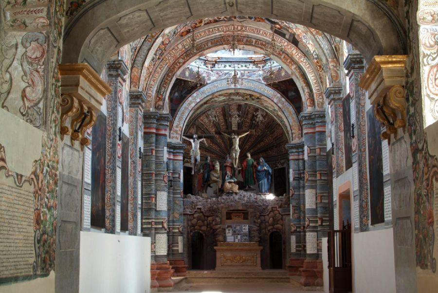 Al interior de la Capilla Sixtina Mexicana