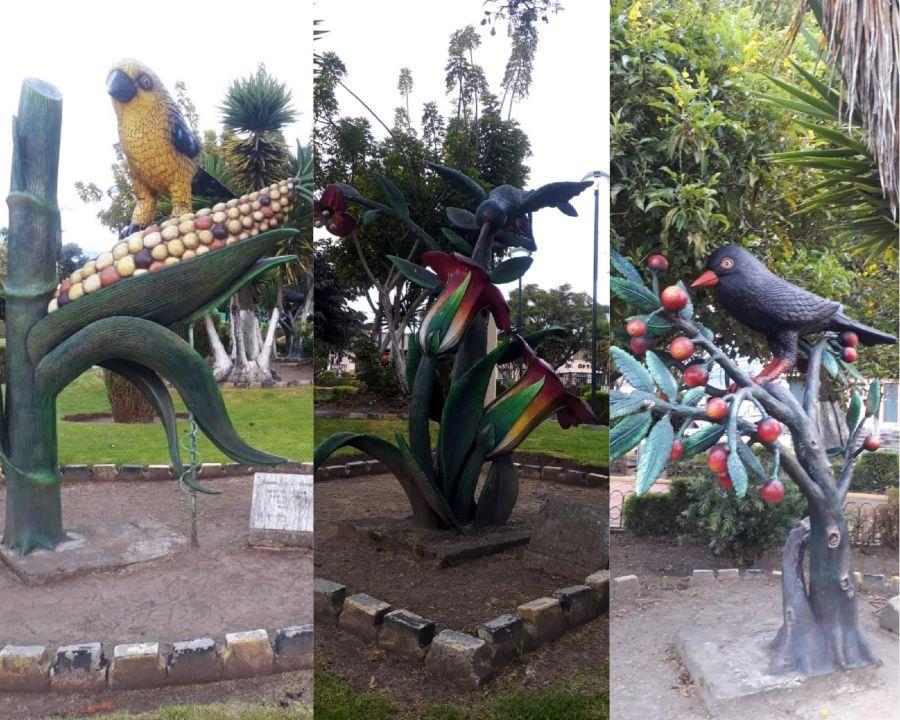 Aves representativas de Alangasí