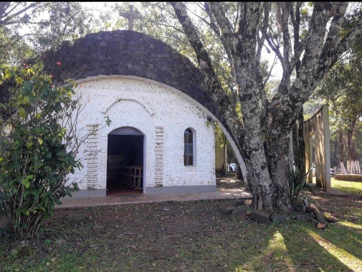 Capilla edificada por el monje