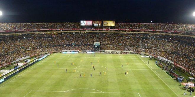 Estadio de fútbol de los Tigres de la UANL