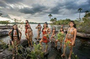 Mujeres de la comunidad indígena pemon
