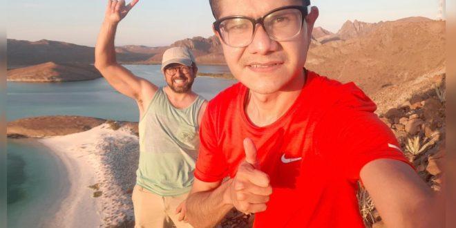 Pablo Gracidas y Ernesto Jáuregui en La Paz