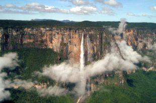 Salto del Ángel en Canaima