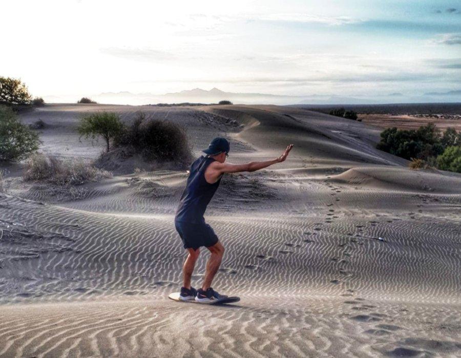 Sandboard en Dunas El Mogote