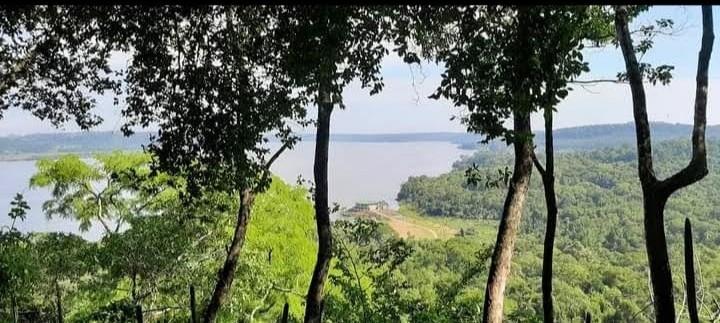 Vista desde uno de los miradores del Parque Provincial Teyú Cuaré