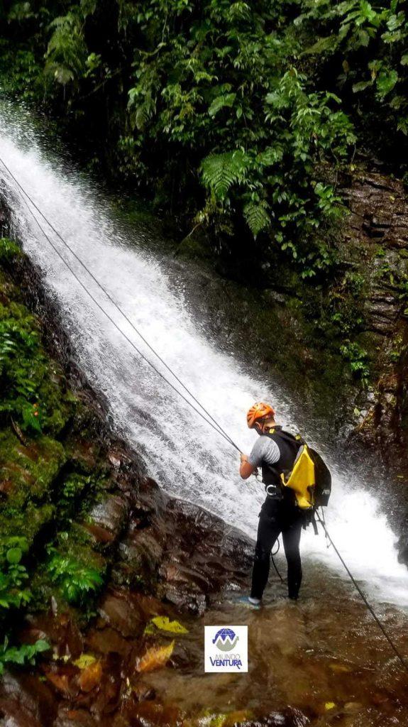 CANYONING, Cascada Gallo de la Peña, Reserva Orquideológica El Pahuma