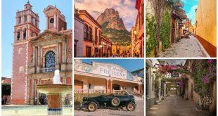 Collage de pueblos en Querétaro