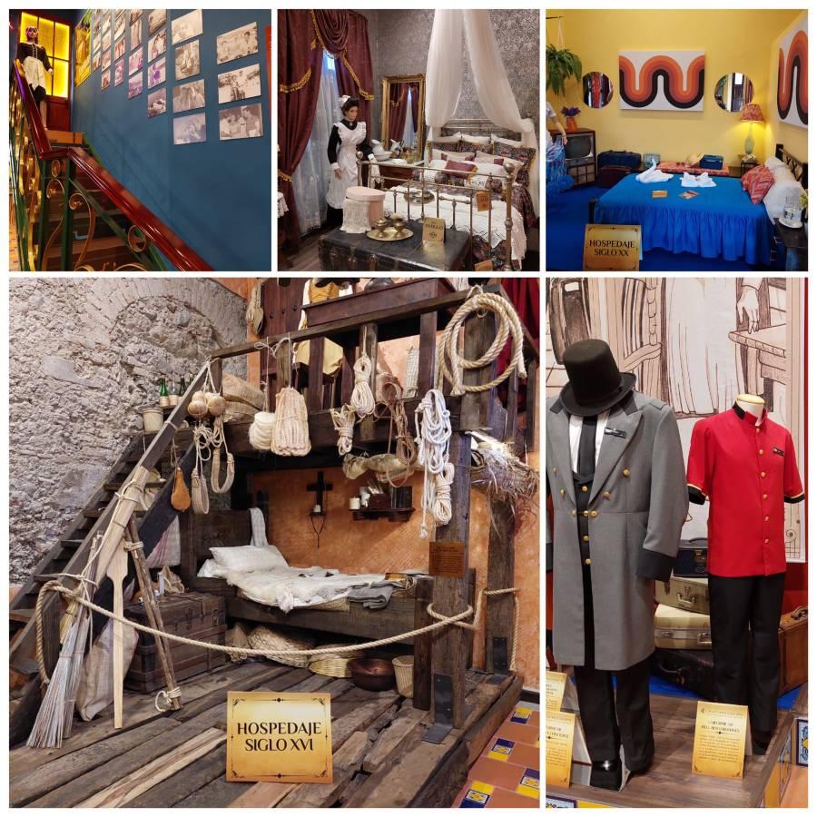 Elementos del Museo de la Hotelería Mexicana