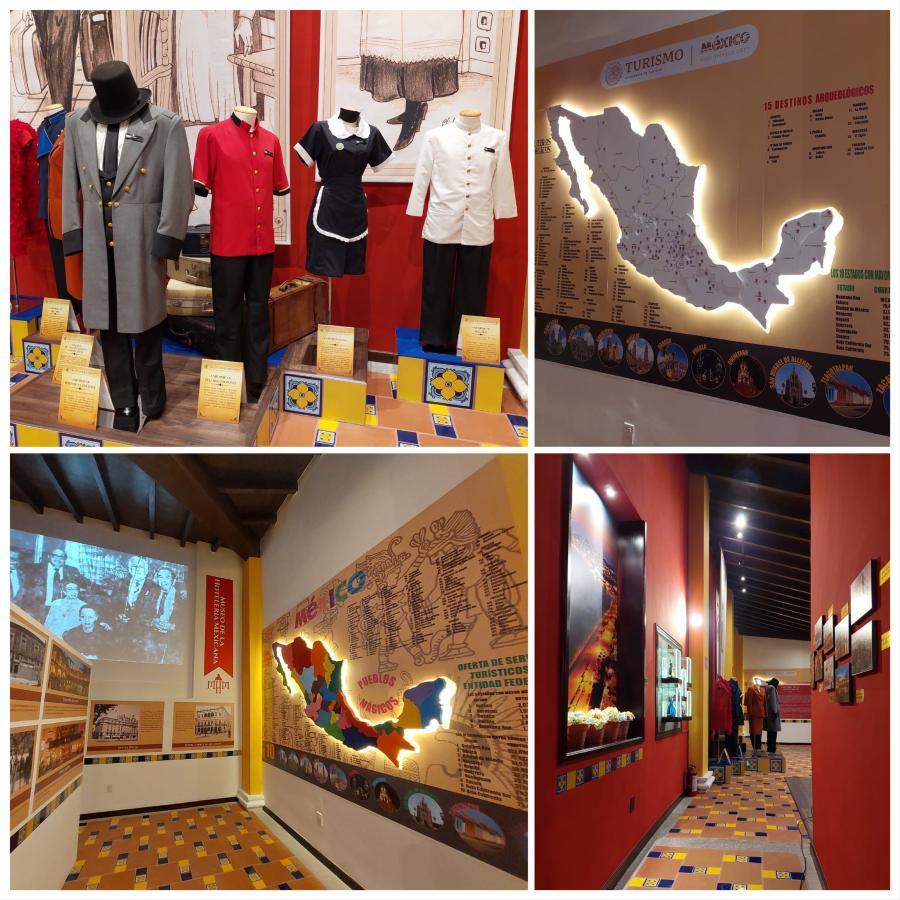 Habitaciones del Museo de la Hotelería Mexicana
