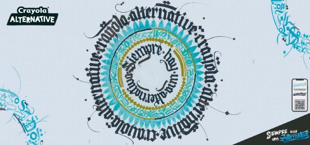 Ilustración Andrea para Crayola Alternative