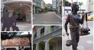 Imágenes de la Calle Panamá en Guayaquil