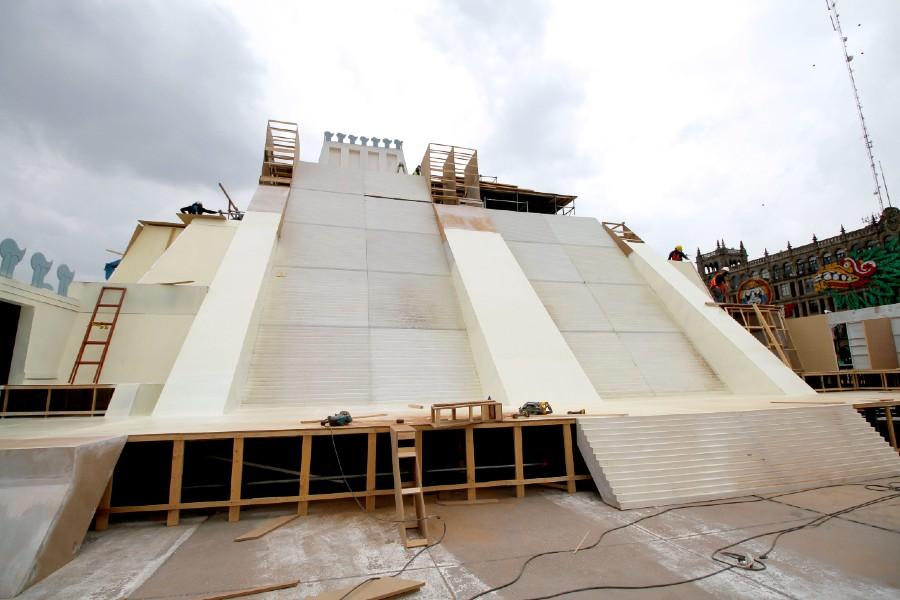 Instalación de la Maqueta Monumental del Templo Mayor 4