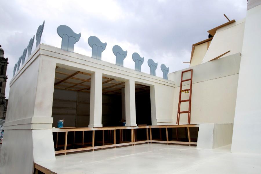 Instalación de la Maqueta Monumental del Templo Mayor 6