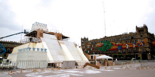 Instalación de la Maqueta Monumental del Templo Mayor