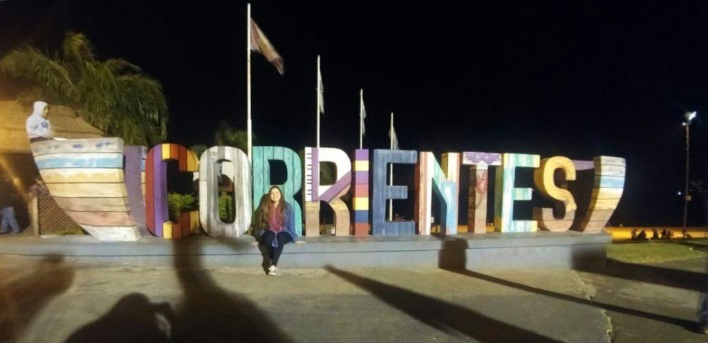 Ana de Paraguay en Corrientes, Argentina