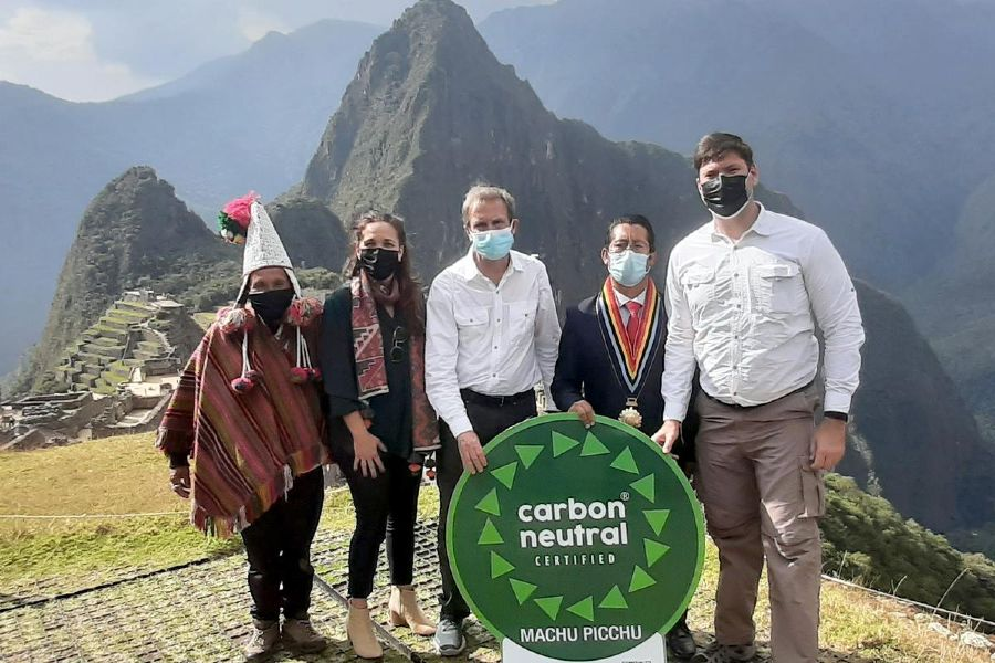 Carbono neutro Machu Picchu
