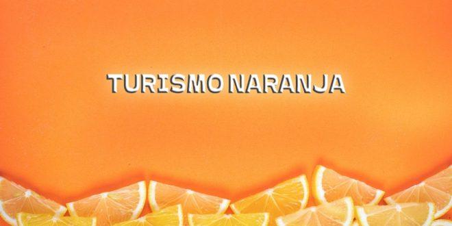 Definición del turismo naranja