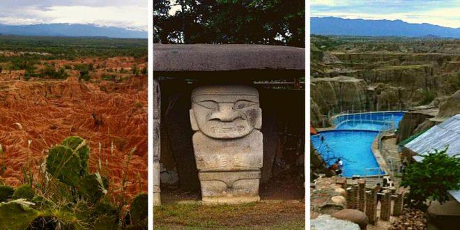 Desierto de la Tatacoa y Parque arqueológico San Agustín