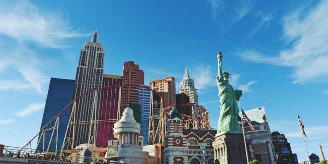 Estatua de la libertad en Las Vegas
