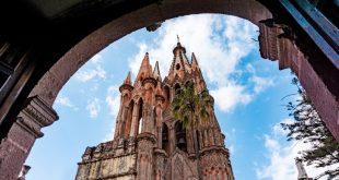 Parroquia San Miguel Arcángel en San Miguel de Allende