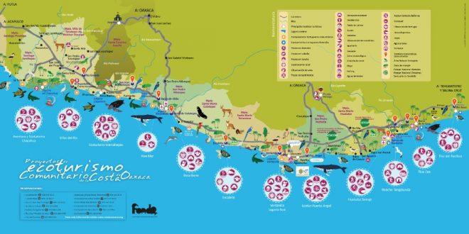 Proyectos de Ecoturismo Comunitario de la Costa de Oaxaca
