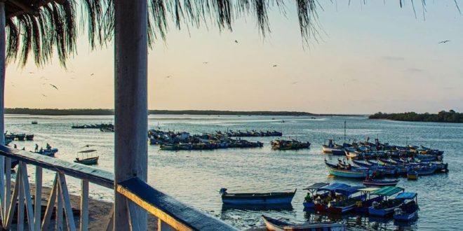 Puerto Pizarro en Tumbes, Perú