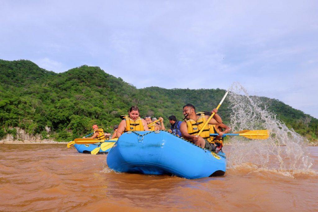 Rafting en Río Copalita
