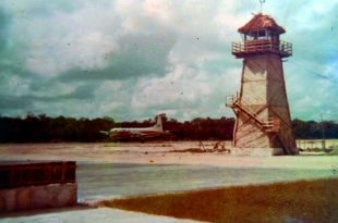 Aeropuerto Cancún en los años 70