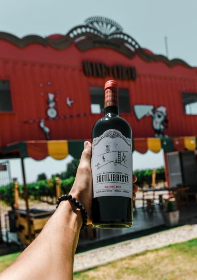 El Equilibrista de Wine y Circo