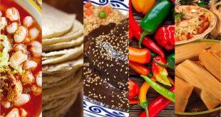 Gastronomía mexicana diferentes platillos
