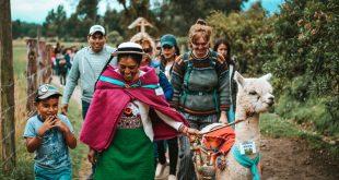 Hilanderas en Ecuador