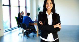 Mujer trabajadora profesional
