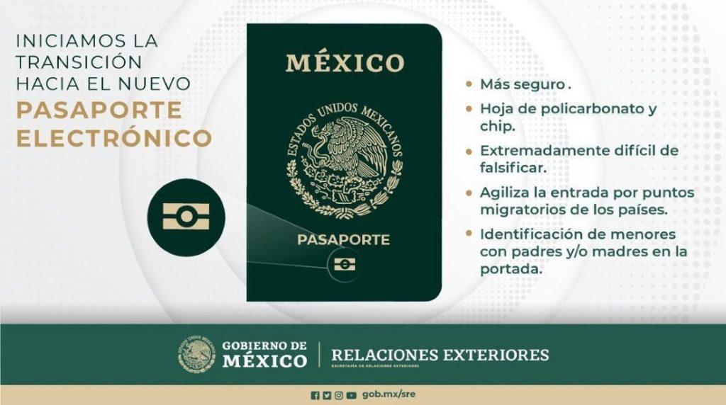 Pasaporte electrónico mexicano