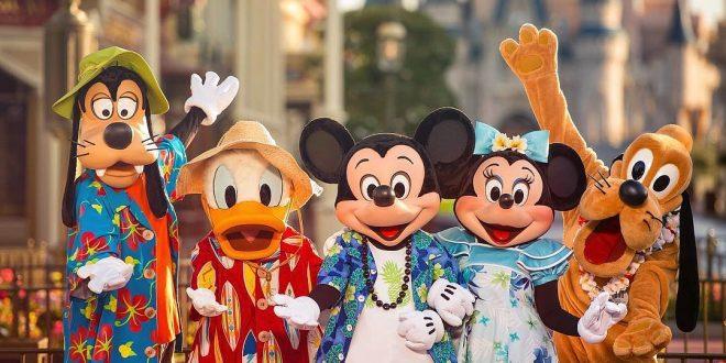 Personajes en Walt Disney